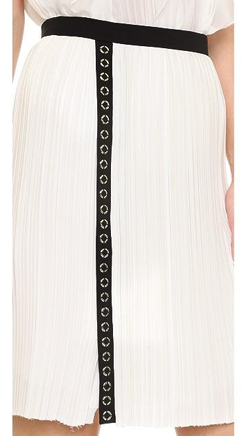 J. Mendel Micro Pleated Skirt