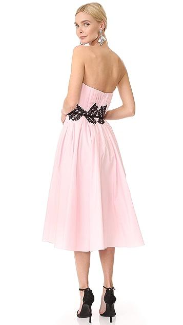 J. Mendel Платье без бретелек