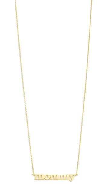 Jennifer Meyer Jewelry Mommy Necklace