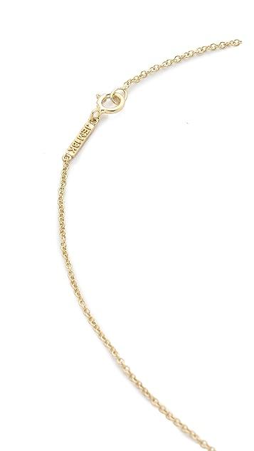 Jennifer Meyer Jewelry 18k Gold Mama Necklace
