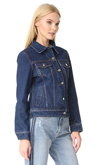 JN by JN LLOVET Just Married Denim Jacket