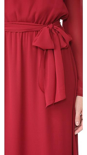 Joanna August Gina Long Sleeve Gown