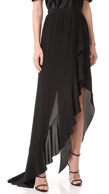 Juan Carlos Obando Ruffle Wrap Skirt