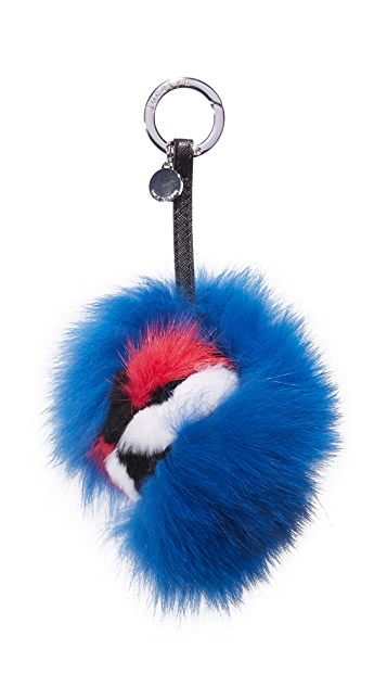Jocelyn Monster Fur Bag Charm