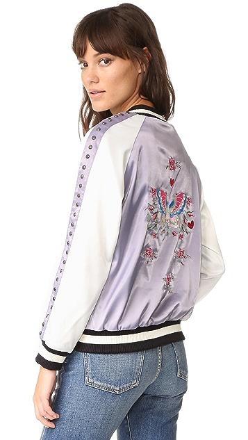 Jocelyn Reversible Ella Bomber Jacket