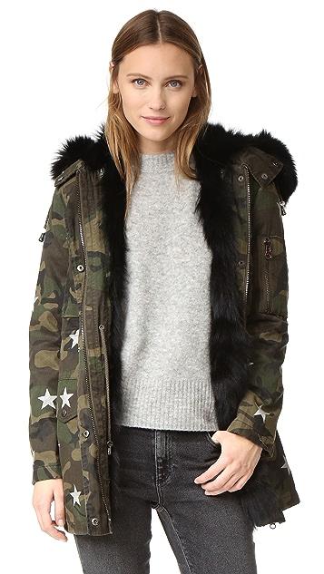Jocelyn Army Fabric Cargo Coat