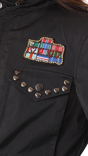 Jocelyn Field Jacket With Fox Liner