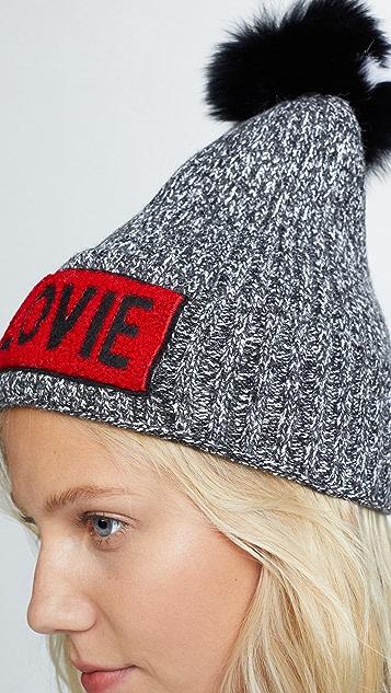 Jocelyn Beanie Pom Hat