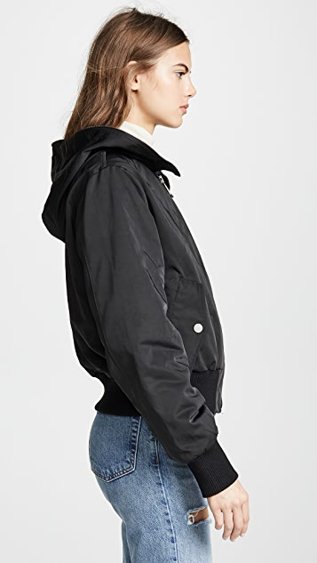 Jocelyn Cropped Bomber Jacket
