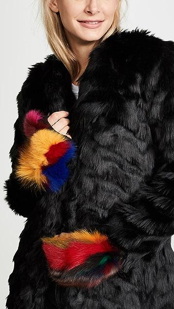 Jocelyn Insomniac Fur Mittens