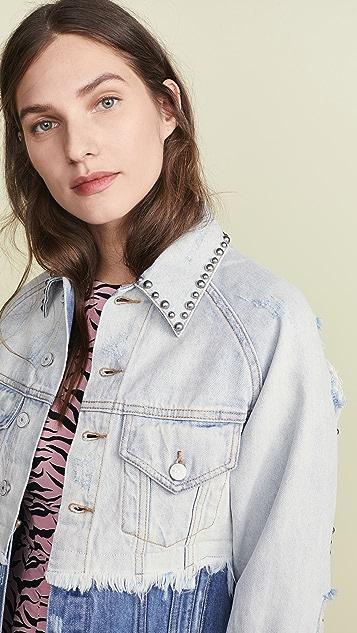 Jocelyn Two Tone Denim Jacket