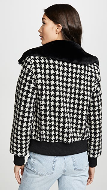 Jocelyn Teddy Bomber Jacket
