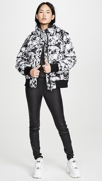 Jocelyn Tie Dye Puffer Jacket