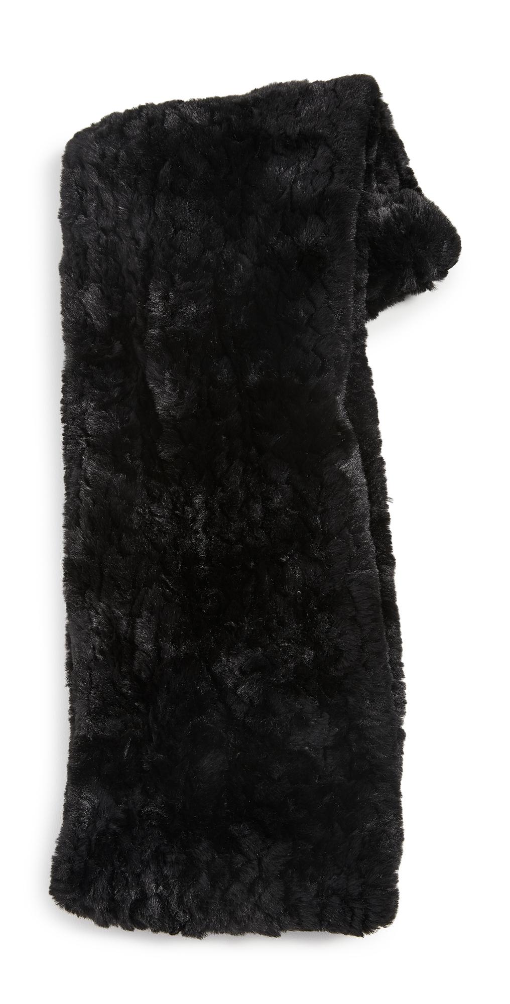 Jocelyn Knitted Faux Fur Infinity Scarf
