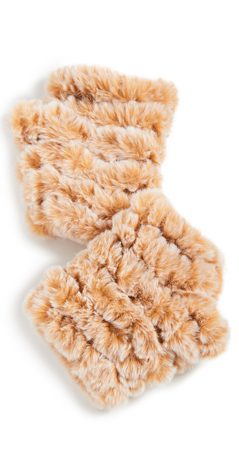 Knitted Faux Fur Mandy Mittens