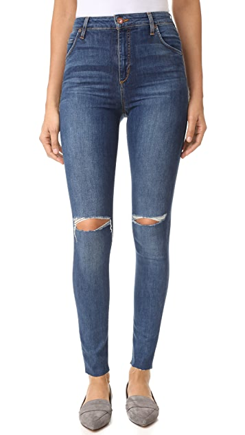 Joe's Jeans Bella High Rise Skinny Jeans
