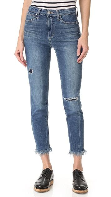 Joe's Jeans Charlie High Rise Crop Jeans