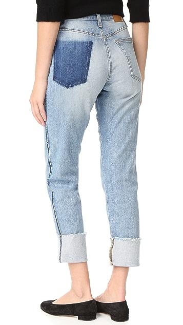Joe's Jeans Debbie High Rise Straight Ankle Jeans