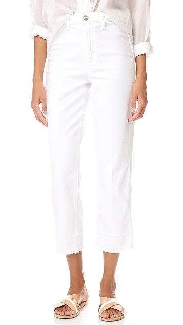 Joe's Jeans Jane High Rise Straight Crop Jeans