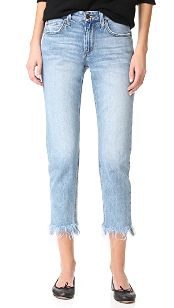 Joe's Jeans Smith Mid Rise Straight Ankle Jeans