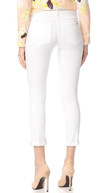 Joe's Jeans Andie Mid Rise Skinny Crop Jeans