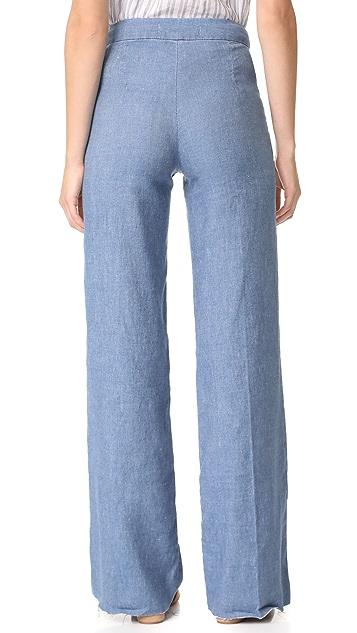 Joe's Jeans The Bessie Wide Leg Trouser Jeans