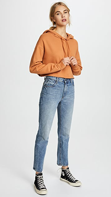 Joe's Jeans x Taylor Hill Cropped Hoodie