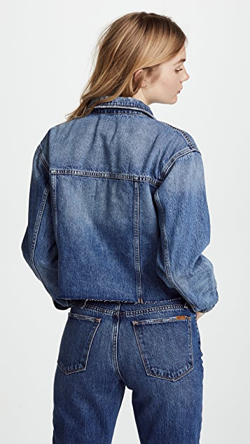 Joe's Jeans Cutoff Cropped Jacket