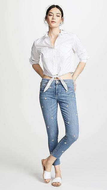 Joe's Jeans Icon Cropped Skinny Jeans
