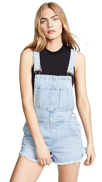 Joe's Jeans Kellsie Short Overalls