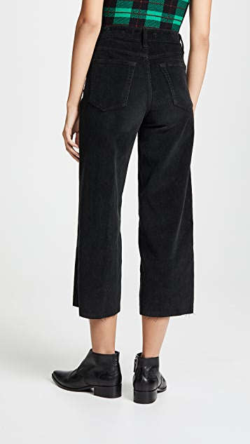 Joe's Jeans The Crop Wide Leg Cords