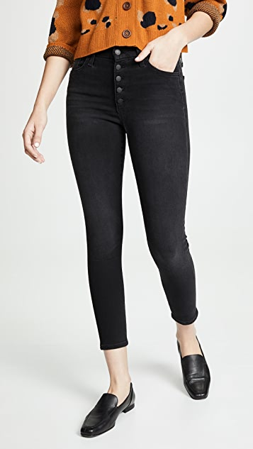 Joe S Jeans The Hi Honey Ankle Button Fly Jeans