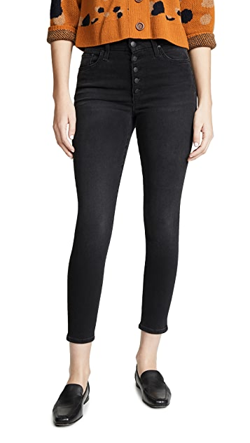 Joe's Jeans The Hi Honey Ankle Button Fly Jeans