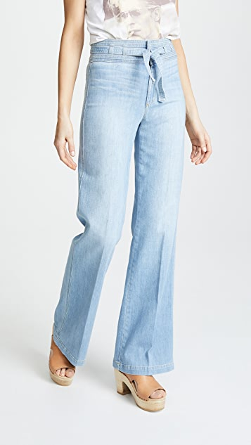 Hr Belted Flare Jeans by Joe's Jeans