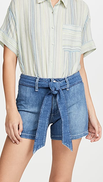Joe's Jeans The HR Belted Tie Shorts