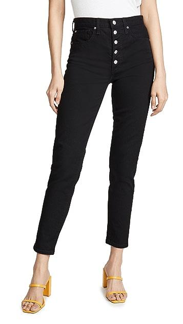 Joe's Jeans Винтажные прямые джинсы x We Wore What Danielle с высокой посадкой
