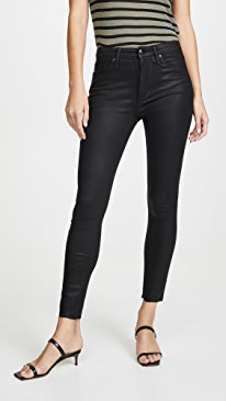 The Charlie Coated Ankle Jeans