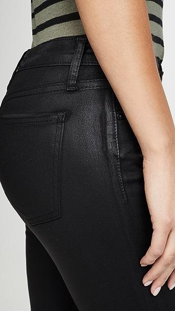 Joe's Jeans Джинсы до щиколотки Charlie с покрытием