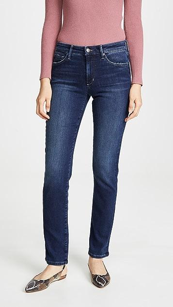 Joe's Jeans Lara 中腰烟管牛仔裤