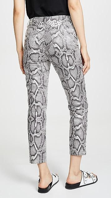 Joe's Jeans Джинсы-дудочки с высокой посадкой