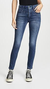 The Hi Honey Skinny Ankle Jeans