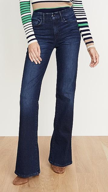 Joe's Jeans Расклешенные джинсы Molly с высокой посадкой