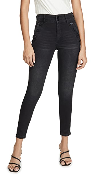 Joe's Jeans The High Rise Ankle Skinny Jeans