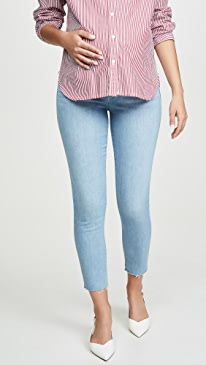 The Icon Crop Maternity Jeans