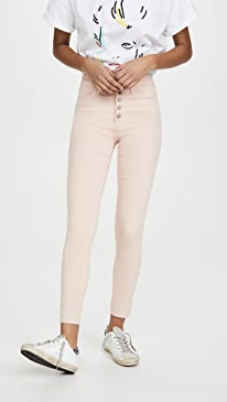 The Charlie Ankle Exposed Button Fly Jeans