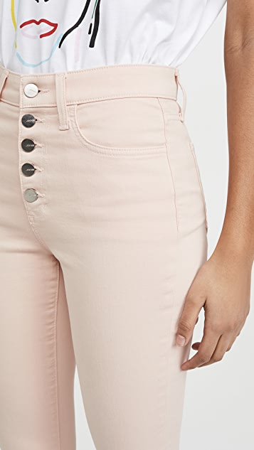 Joe's Jeans The Charlie Ankle Exposed Button Fly Jeans