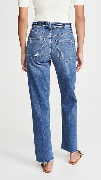 Joe's 牛仔裤 The Niki 毛边裤脚男友风格牛仔裤