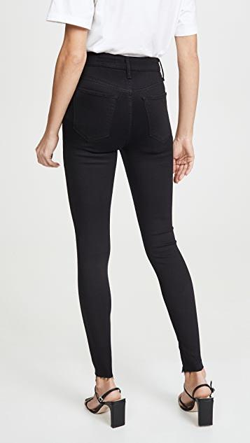 Joe's Jeans x WWW The Danielle 高腰紧身拉链牛仔裤