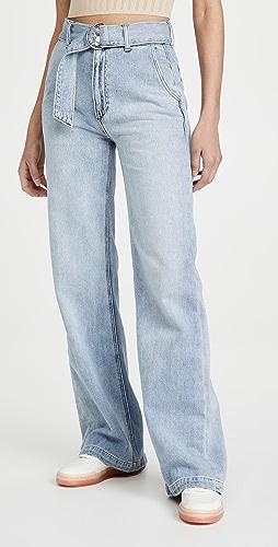 Joe's Jeans - The Belted Wide Leg Jeans