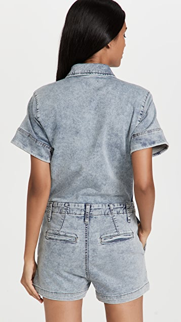 Joe's Jeans The French Terry Shortall Romper
